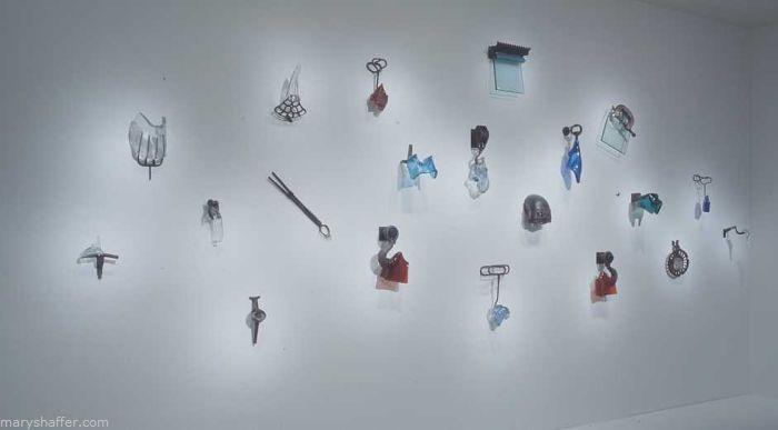 Tool Wall,  20' x 35' x 1'